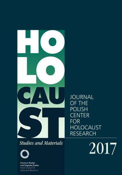 Wyświetl Nr Holocaust Studies and Materials (2017)